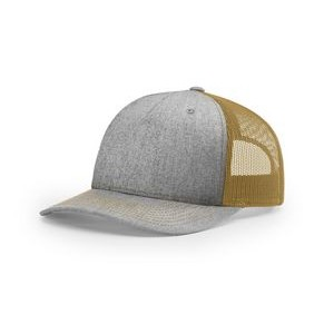 Mid-Pro Lifestyle Five Panel Trucker Snapback Cap